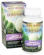 Lion's Mane Brain & Nerve Support - 60 Vegetarian Capsules by Host Defense