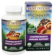 MyCommunity全面免疫支持-120 Vegetarian Capsules by Host Defense