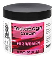 TestaEdge Cream for Women - 4 oz. formerly Testosterone Cream Formula for Women by Libido Edge Labs
