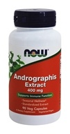 NOW Foods - Andrographis萃取物 400 mg。 - 90 素食胶囊