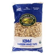 Organic Khorasan Wheat Puff Cereal Kamut - 6 oz. by Nature's Path Organic (自然之路)