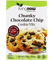 Living Now Chocolate Chip Cookie Mix Gluten-Free - 17 oz. by NOW Foods