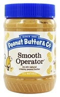 No-Stir Natural Creamy Peanut Butter Smooth Operator - 16 oz. by Peanut Butter & Co.