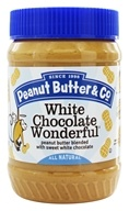 Peanut Butter Blended with Sweet White Chocolate White Chocolate Wonderful - 16 oz. by Peanut Butter & Co.