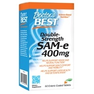 SAM-e 400双倍强度400 mg 。60 Enteric-Coated Tablets by Doctor's Best (好医生)
