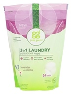 3-in-1 Laundry Detergent Pods 24 Loads Lavender with Vanilla - 15.2 oz. by Grab Green