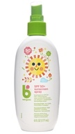 Sunscreen Spray Mineral Based Fragrance Free 50 SPF - 6 fl. oz. by BabyGanics (甘尼克宝贝)