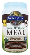 Raw Organic Meal Shake & Meal Replacement Chocolate Cacao - 35.9 oz. by Garden of Life (生命花园)