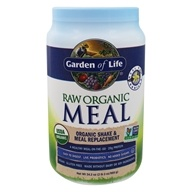 RAW Organic Meal Shake & Meal Replacement Vanilla - 34.2 oz. by Garden of Life (生命花园)