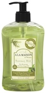Traditional French Milled Liquid Soap Rosemary Mint - 16.9 fl. oz. by A La Maison