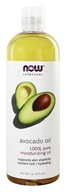 NOW Solutions 100% Pure Moisturizing Avocado Oil - 16 fl. oz. by NOW Foods