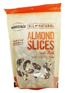 Woodstock Farms - All-Natural Almond Slices Thick - 7.5 oz.