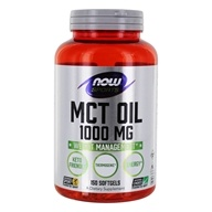 NOW Sports MCT Oil 1000 mg 。150 NOW Foods按NOW Foods