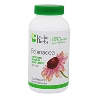 Echinacea LuckyVitamin 380 mg 。100 Capsules by LuckyHerbs