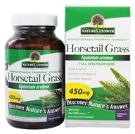 Horsetail草唯一草本补充-90 Capsules by Nature's Answer (自然之源)