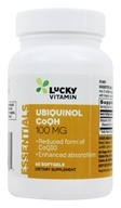 LuckyVitamin-Ubiquinol CoQH 100 mg。 软凝胶60粒