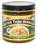 Vegetarian No Chicken Base - 8 oz. by Better Than Bouillon