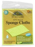 100% Natural Sponge Cloths - 5 Cloth(s) by If You Care