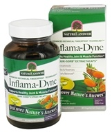 Inflama达因快吸收ExtractaCaps-90按Nature's Answer (自然之源)素食胶囊