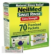 Sinus Rinse Extra Strength - 70 Premixed Packets by NeilMed Pharmaceuticals