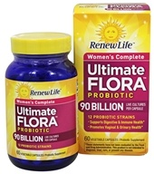 Renew Life - Ultimate Flora (富兰) Women's Complete Probiotic 90 Billion CFU - 60 Capsules