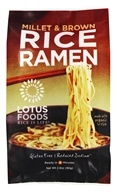 Rice Ramen with Miso Soup Millet & Brown - 2.8 oz. by Lotus Foods