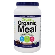 Organic Meal All-In-One Nutrition Powder Creamy Chocolate Fudge - 2.01 lbs. by Orgain