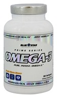 Omega-3 配药成绩Omega-3 油-90 Softgels by Blue Star Nutraceuticals