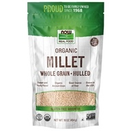 Organic Whole Grain Hulled Millet - 16 oz. by NOW Foods