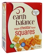 Vegan Squares Cheddar Flavor - 6 oz. by Earth Balance