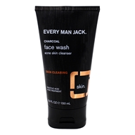 Every Man Jack - Charcoal Skin Clearing Face Wash Cleanser - 5 fl. oz.