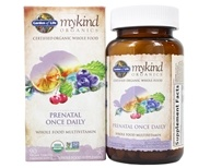 mykind Organics Prenatal Once Daily Whole Food Multivitamin - 90 Vegetarian Tablets by Garden of Life (生命花园)