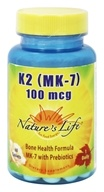 K2 (MK7) 100 mcg。60 Tablets by Nature's Life