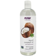 NOW Solutions Pure Fractionated Liquid Coconut Oil - 16 fl. oz. by NOW Foods