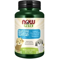 NOW Pets Weight Management For Dogs - 90 Chewable Tablets by NOW Foods