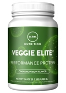MRM - Smooth Veggie Elite Vegan Performance Protein Powder Cinnamon Bun - 2.25 lbs.