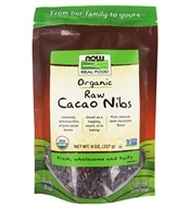 Organic Raw Cacao Nibs - 8 oz. by NOW Foods