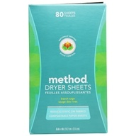 Dryer Sheets Beach Sage - 80 Sheet(s) by Method