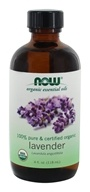 100 % Pure &有机精油淡紫色-4 fl. oz. by NOW Foods