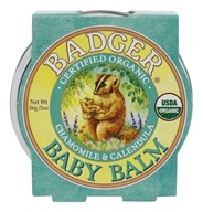 Baby Balm Chamomile & Calendula - 2 oz. by Badger (贝吉獾)