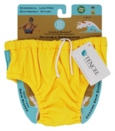 Reusable Swim Diaper Florescent Yellow - Large by Charlie Banana