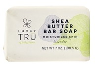 Shea Butter French Milled Bar Soap Lavender - 7 oz. by LuckyTru