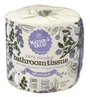100% Recycled Double Roll Bathroom Tissue 2-Ply 500 Sheets - 1 Roll(s) by Natural Value