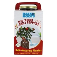 Self-Watering Organic Chili Pepper Planter by Back to the Roots