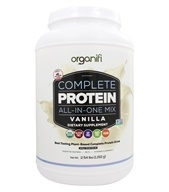 Complete Protein All-In-One Shake Drink Mix Vanilla - 2.61 lbs. by Organifi