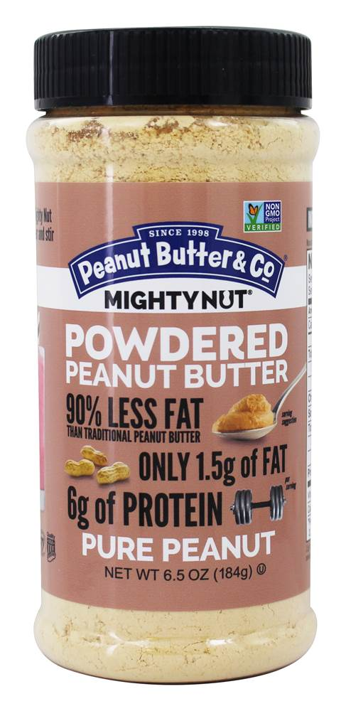 Mighty Nut Powdered Peanut Butter Pure Peanut - 6.5 oz. by Peanut Butter & Co.