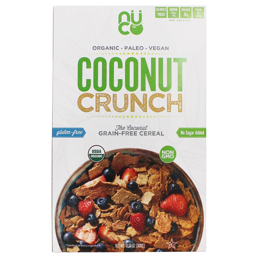 Organic Coconut Crunch Cereal - 10.58 oz. by NUCO