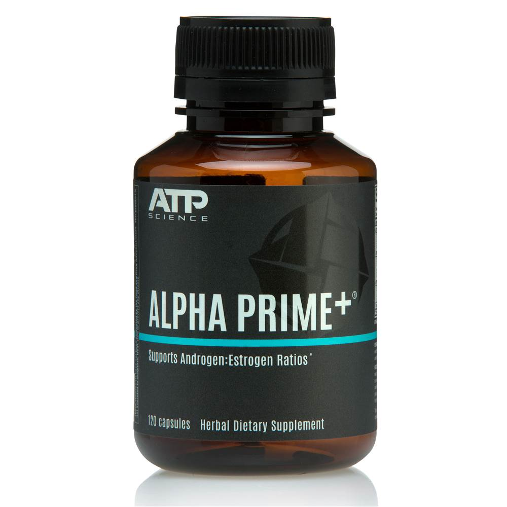 Alpha Prime Formulated Supplementary Sports Food - 120 Capsules by ATP Science