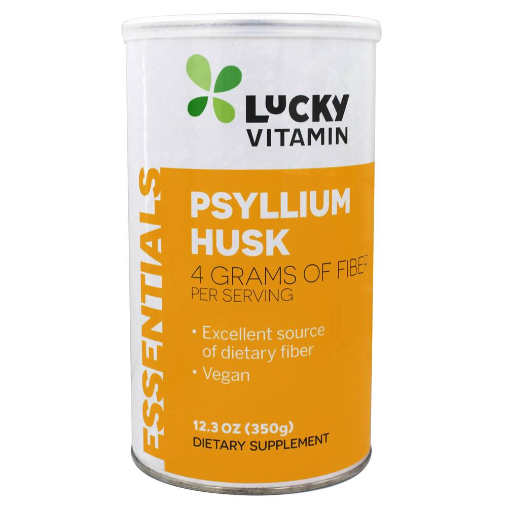 Psyllium Husk - 12.3 oz. by LuckyVitamin