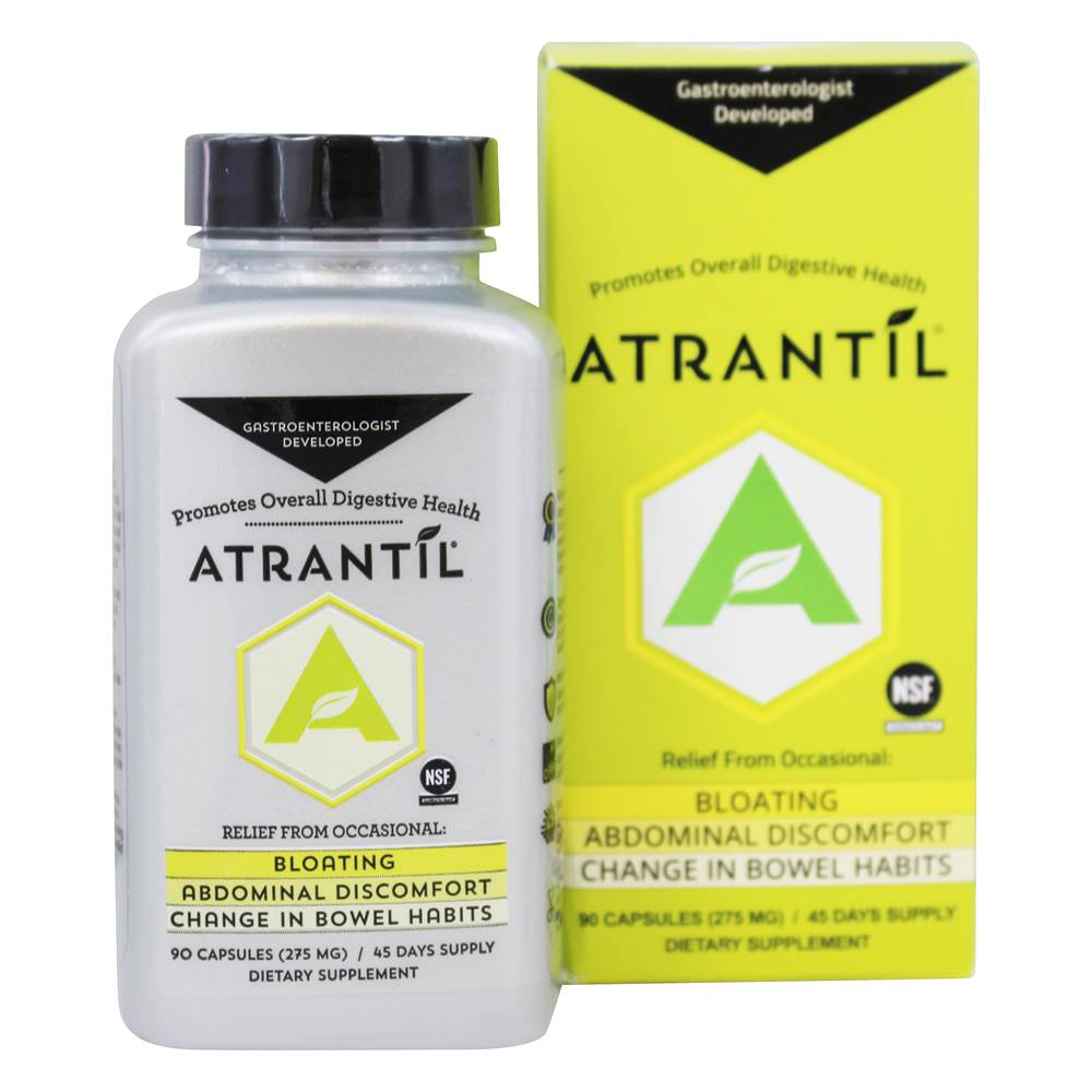Digestive Health Support - 90 Capsules by Atrantil